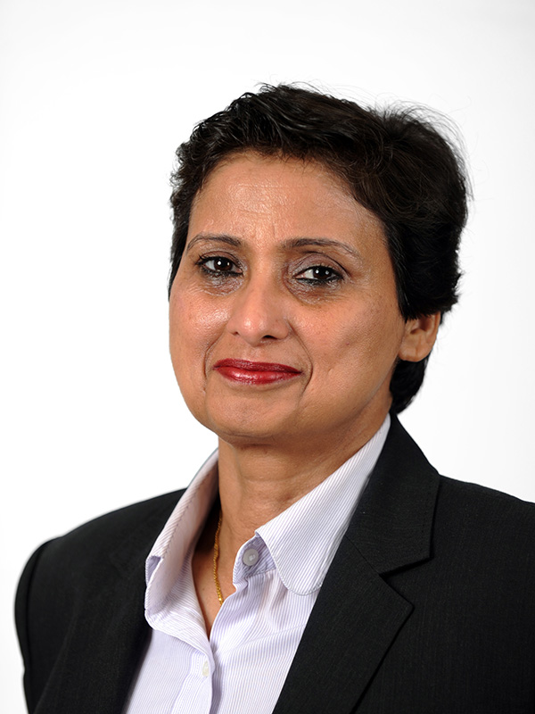 Sajida Bijle, Interim Managing Director